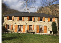 Property nestled in the French Pyrenees mountains