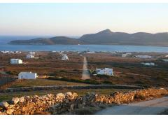 Antiparos sea view land, sunset view  - FOR SALE