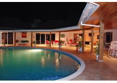Income property 5* luxury villa private pool and beach