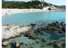 Sardinia, holiday house in exclusive condominium with a wonderful beach