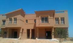 Twin house villa for sale in New Cairo City compound Katameya Gardens