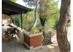 Beautiful property right on the Adriatic waterline, Milna, island Brac